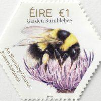STAMP Garden bumblebee, Bombus hortorum